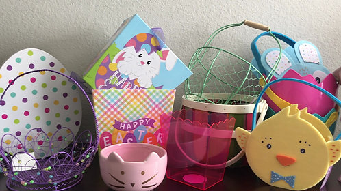 Treat-Filled Easter Baskets