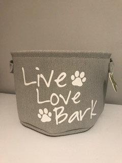 Live Love Bark Basket