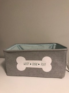 Woof Bark Play Basket