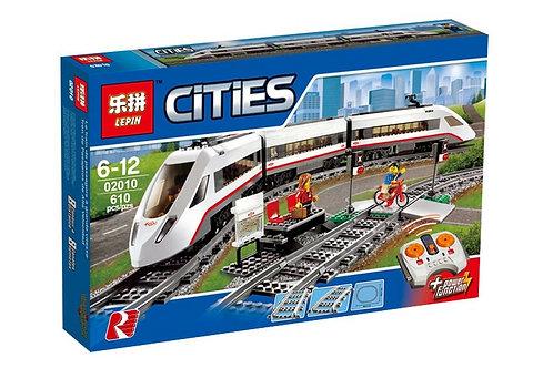 02010 Lepin Высокоскоростной Пассажирский Поезд