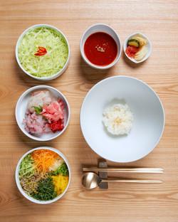 호시카이 회 덮밥 정식