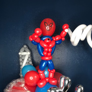 Spider-man birthday balloon