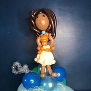 Disney Moana Birthday balloon gift