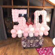 Birthday balloon numbers