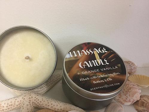 Orange Vanilla Massage Candle