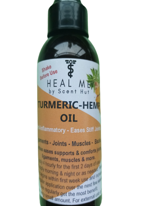 Turmeric Hemp Pain Oil 125ml