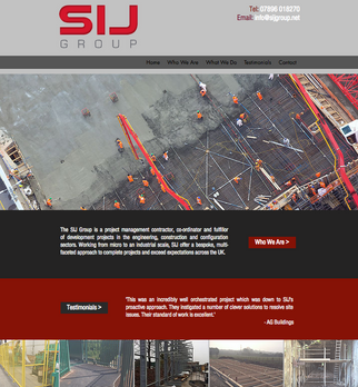 Website and branding for SIJ Group