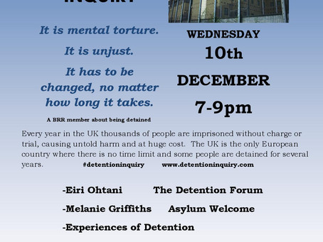 Human Rights Day: The Detention Inquiry