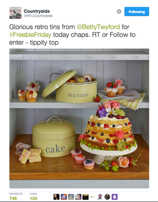 Betty Twyford competition in Countryside Magazine