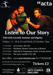 Listen to our story: Community Theatre