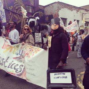 Bristol Solidarity Demonstration