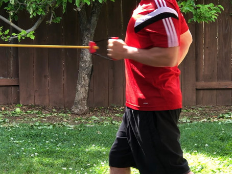 21 DAYS, 12 MINUTE WORKOUTS, 1 EXERCISE BAND FITNESS CHALLENGE