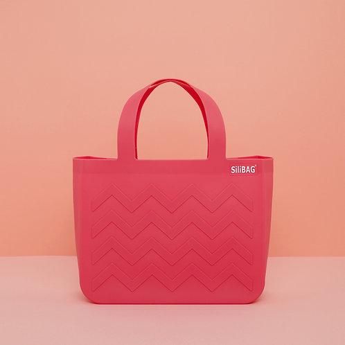 SiliBAG-mini Wave|Pastel Pink