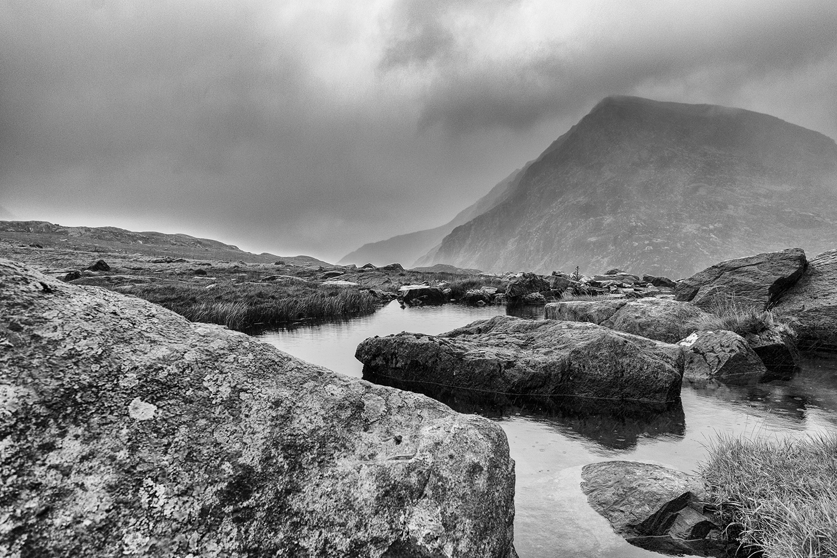 Snowdonia rain