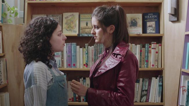 "April O'Donnell and Derya Celikkol in ""Multiverse"""