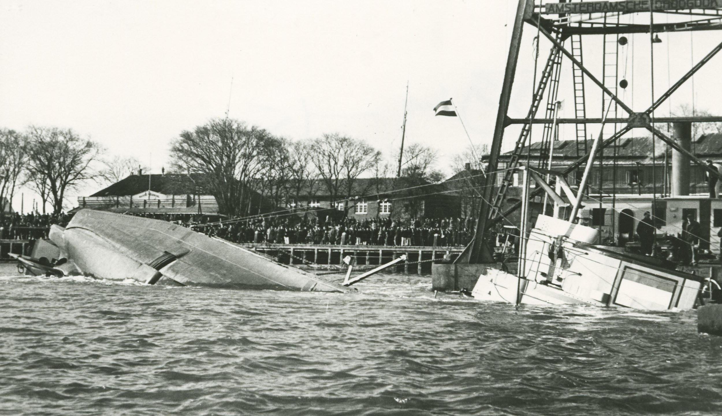 berging van de onderzeeboot Hr. Ms. O 11