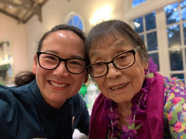 With my 100 year old grandmother