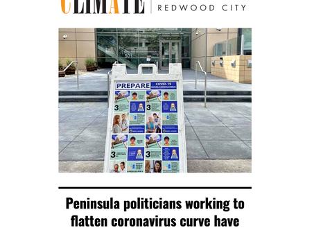Peninsula politicians working to flatten coronavirus curve have public health backgrounds
