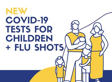 Free COVID-19 Testing for Kids & Flu Shots in San Mateo