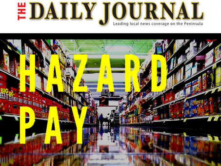Hazard Pay: Supporting essential workers