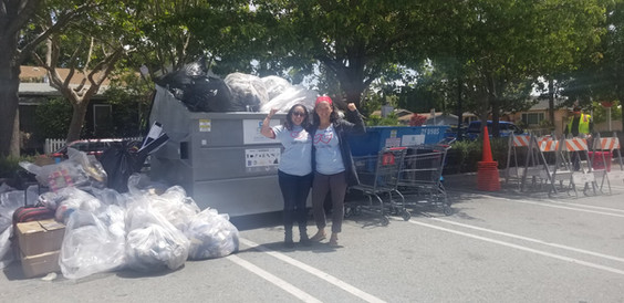 15 cubic yards of trash collected!