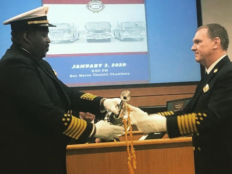 Welcome new Fire Chief Iverson