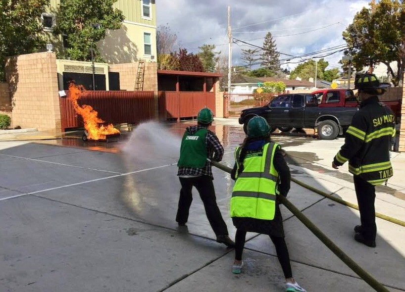We showed that fire who is boss! #CERT