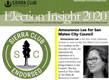 Sierra Club Endorsements