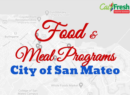 Food Pantry & Meal Programs serving San Mateans
