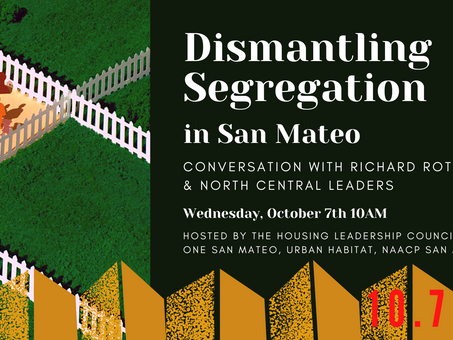 Virtual Event: Dismantling Segregation in San Mateo