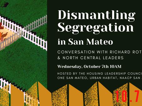 Virtual Event: Dismantling Segregation in San Mateo