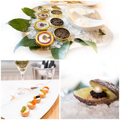 Caviar And Roe Tasting For Two