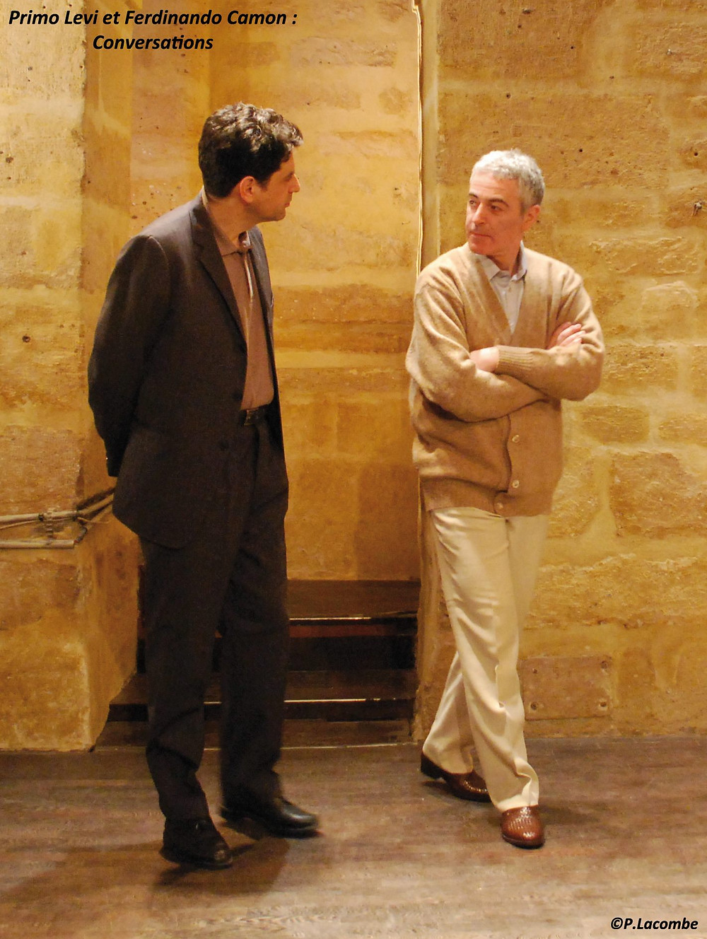 Eric Cénat & Gérard Cherqui © Photo Philippe Lacombe