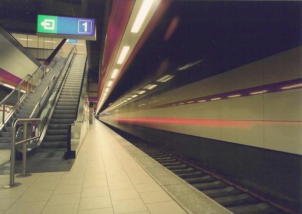 Treinstation Brussel Nationaal