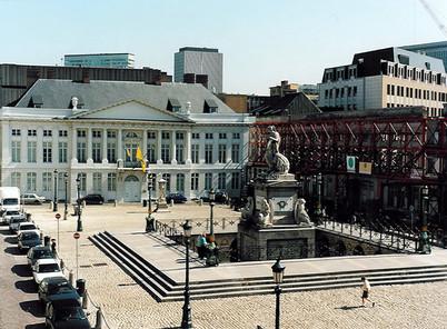 Martelaarenplein te Brussel