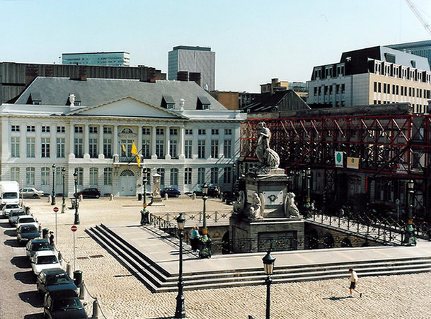 Place des Martyrs à Bruxelles