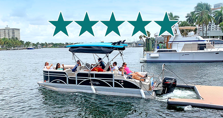 Boat rental reviews