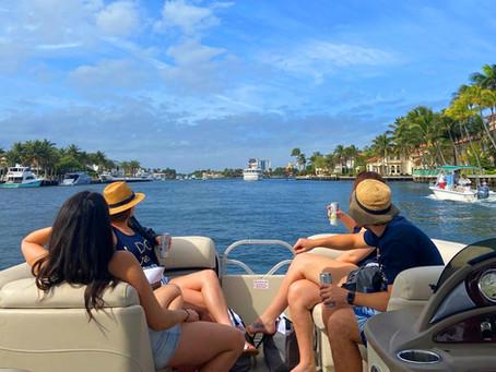 Boat rental bliss in a Covid world