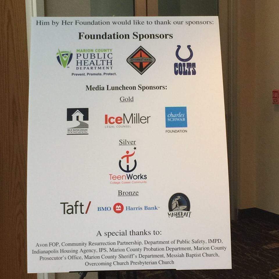 Him by Her Luncheon Sponsors 2015