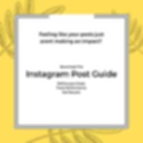 Instagram Post Guide Social Post LIGHTBO