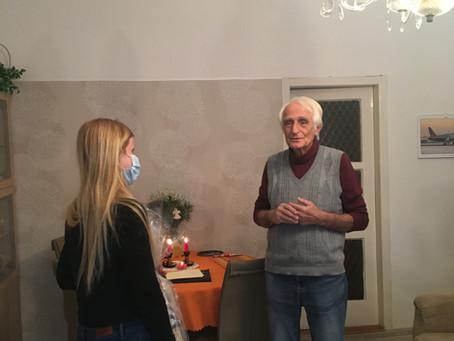 Ocenění pana Jiřího Grumlíka