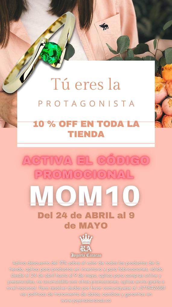 Rosa Día de la Madre Historia de Instagr