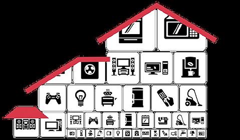 Tilojen eri sähkölaitteiden automaattinen ohjaus lisää mukavuutta
