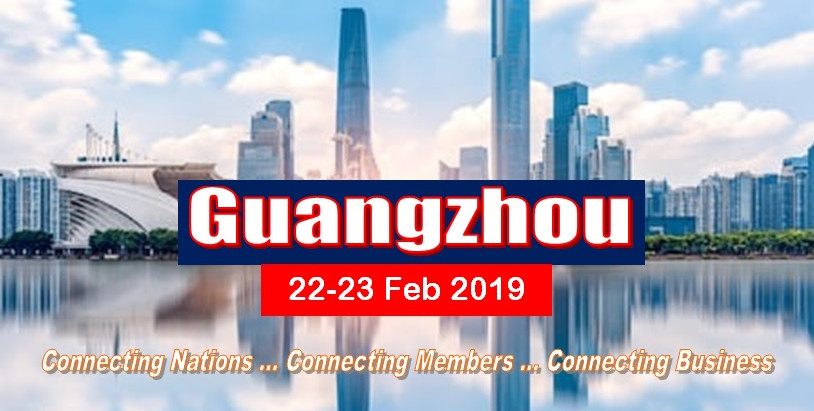 The OBOR WORLD Global Conference 21-23 Fen 2019 @Guangzhou