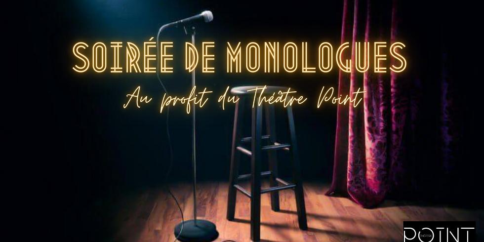Soirée de monologues II – Théâtre Point