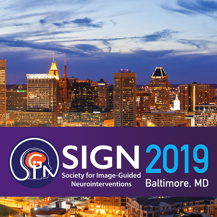 SIGN 2019 Conference