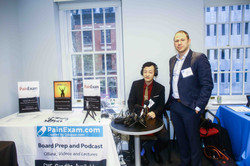 Dr. Kim with Dr. Rosenblum