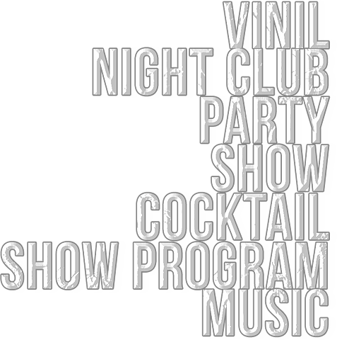 vinil  night club party show  cocktail s