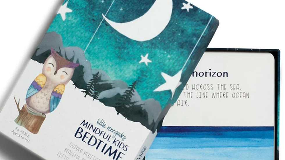 Mindful Kids Cards: Bedtime*