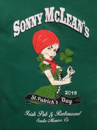 2015 St. Patricks Day - Ladies V-Neck Shirt